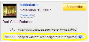 cth gbr dari youtube